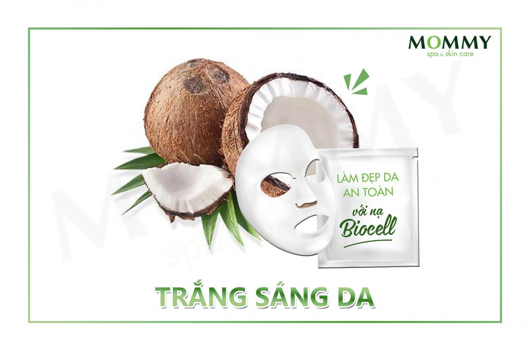 Chăm sóc da với nạ Biocell Whitening Mask