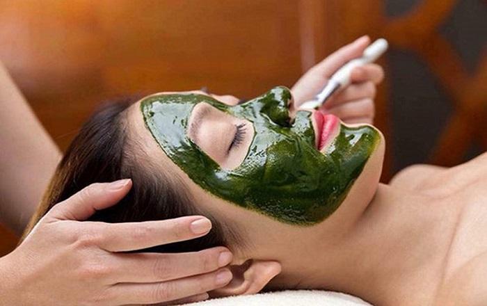 Chăm sóc da với nạ tảo biển ( dành cho da dầu mụn)